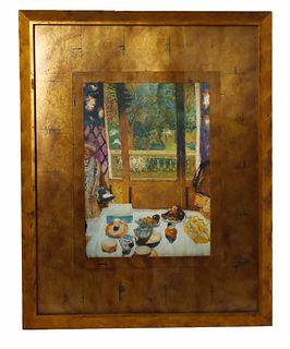 Bonnard Interior Still Life, Graphic Image