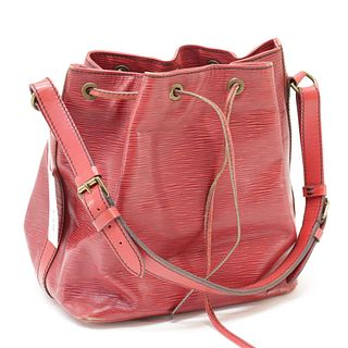 Louis Vuitton - Red Epi Leather Noe PM
