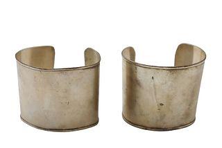 American Indian Silver Cuff Bracelets