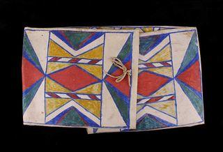 Umatilla Polychrome Parflecehe Envelope c. 1890