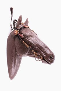 Walla Walla Prison Hitched Horsehair Bridle C 1890
