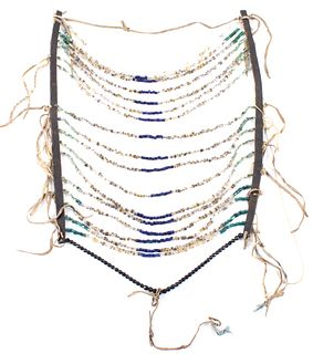 Sioux Beaded Breastplate 19th Century