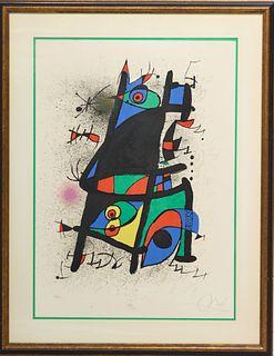 Joan Miro (1893-1983) Spanish, Signed Lithograph