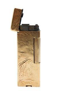 Dunhill 14k Gold Rollagas Lighter