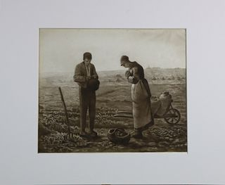 Jean-Francois Millet (1814- 1875) French, Etching