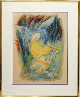 Reuven Rubin (1893 - 1974) Romanian, Lithograph