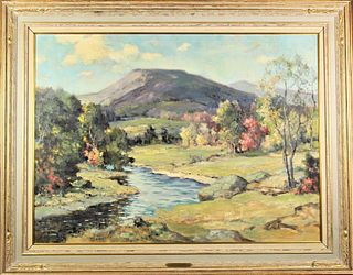 Charles E. Buckler (1869-1953) Canadian, O/C