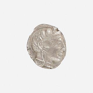 Ancient Greek, Attica, Athens, AR Tetradrachm