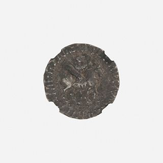 Ancient Greek, Indo-Scythians, AR Tetradrachm