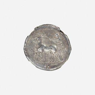 Ancient Greek, Sicily, Messana, AR Tetradrachm