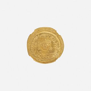 Ancient Greek, Byzantine Empire, AV Solidus