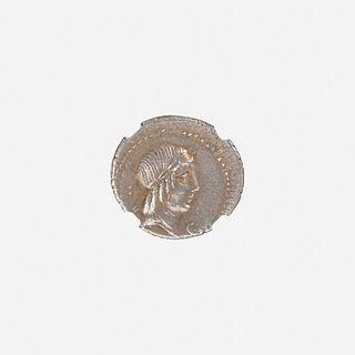 Ancient Roman AR Denarius