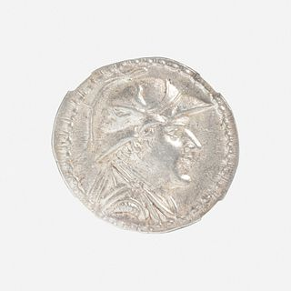Ancient Greek (Hellenistic), Kingdom of Bactria, AR Tetradrachm