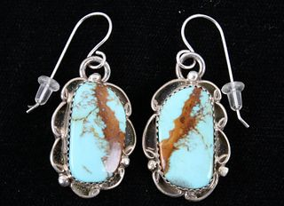 Navajo Beradine Begay Tsosie Royston Earrings
