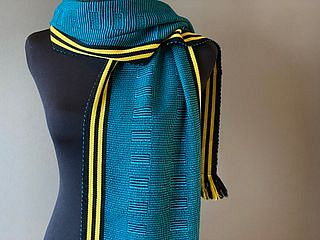 Wide Wink Scarf- Will make to order