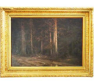 Julius von Klever (1850-1924) Russian, Oil/Canvas