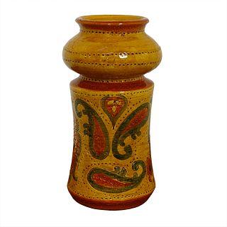 Petite Italian Art Pottery Vase - Bitossi for Rosenthal Netter