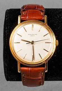 Vintage 18K Patek Philippe Geneve Calatrava Watch