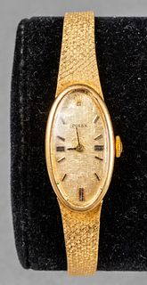 Vintage 1970's Rolex Ladies Bracelet Dress Watch