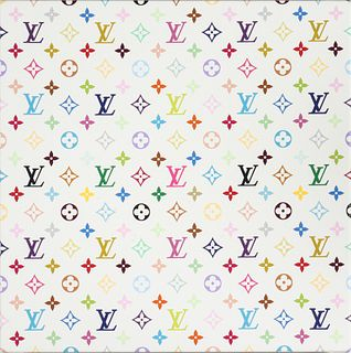Murakami Louis Vuitton Monogram Screenprint