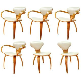 Cherner for Plycraft Mid-Century Dinning Chairs, 6