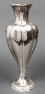 Tiffany & Co. Sterling Silver Vase