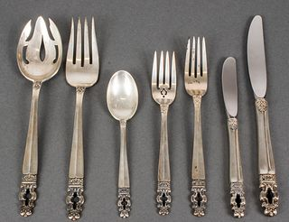"Gorham Silver ""Hispana-Sovereign"" Flatware, 46"