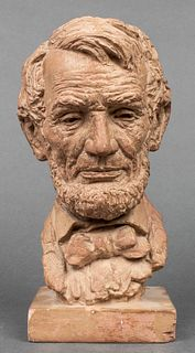 Jo Davidson Manner Bust Of Abraham Lincoln
