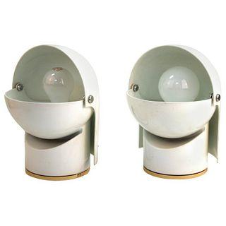 Gae Aulenti Artemide Modern Italian Pileino Lamps
