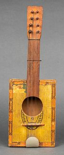 Vintage Cinco Cigar Box Guitar