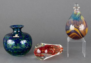 Studio Art Glass Group incl. Guzzardo, Skruf, 3