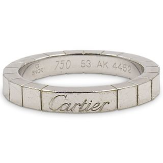 Cartier Laniere 18k Gold Band Ring