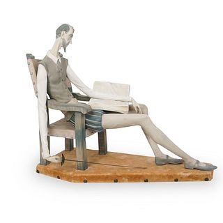 "Lladro ""Don Quixote"" Porcelain Statue"