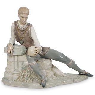 "Lladro ""Hamlet"" Porcelain Statue"