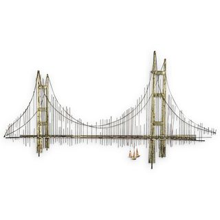 Curtis Jere Mid Century Golden Gate Bridge