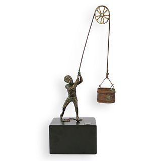 Curtis Jere Mid Century Sculpture