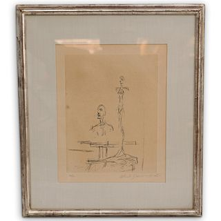 Alberto Giacometti (Swiss, 1901-1966) Signed Engraving