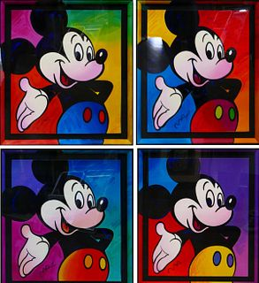 PETER MAX DISNEY SUITE LIMITED EDITION SERIGRAPHS