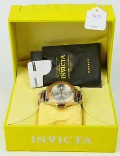 INVICTA GENTS LIMITED EDITION 2 TONE STAINLESS