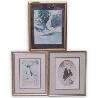 (3 Pc) Set of Louis Icart Offset Lithographs