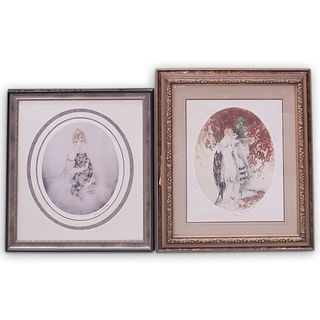 (2 Pc) Pair of Louis Icart Offset Lithographs