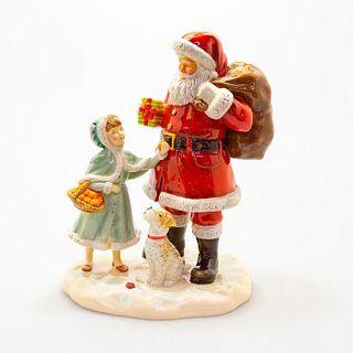 A Gift For Santa -  Hn5733 - Royal Doulton Figurine