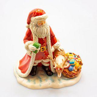Holiday Magic - Father Christmas 2016 HN5782 - Royal Doulton Figurine