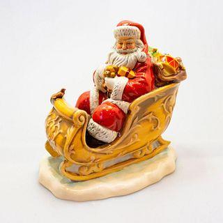 Santas Sleigh Hn5689 - Royal Doulton 2014 Father Christmas