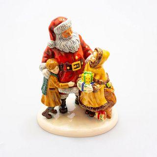 Christmas Joy Hn5548 Cc Foy2012 - Royal Doulton Figurine