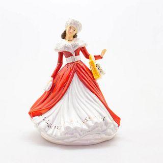 The Perfect Christmas Gift Hn5921 - Royal Doulton Figurine