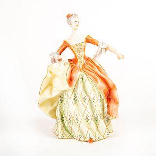 Capodimonte Ginori Large Figurine, Lady Dancing