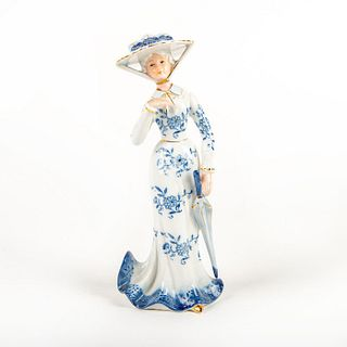 Kpm Porcelain Figurine, Victorian Lady