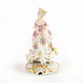 Vintage Italian Porcelain Lady Figurine