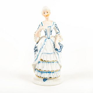 Vintage Porcelain Figurine, Lady With Book